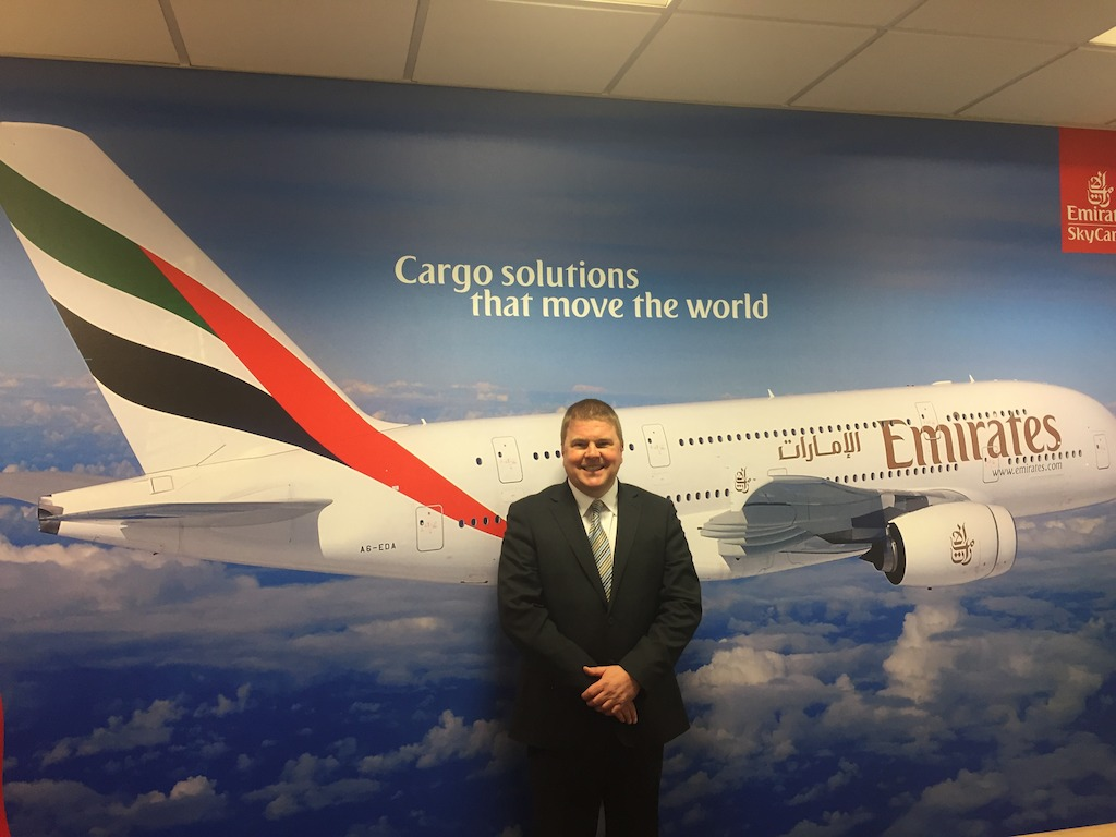 Emirates SkyCargo appoints Ross Barnett as UK Cargo Manager