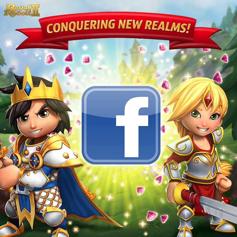 Royal Revolt 2 launches on Facebook Canvas