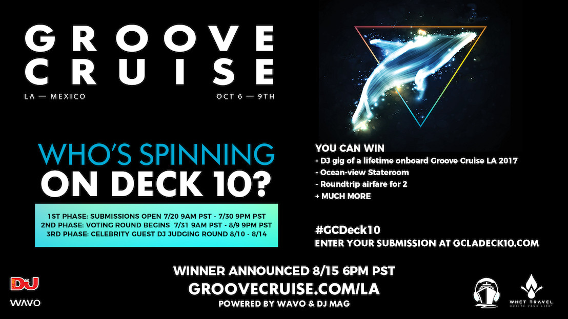 Groove Cruise and WAVO Offer You The Chance To Win The Gig Of A Lifetime
