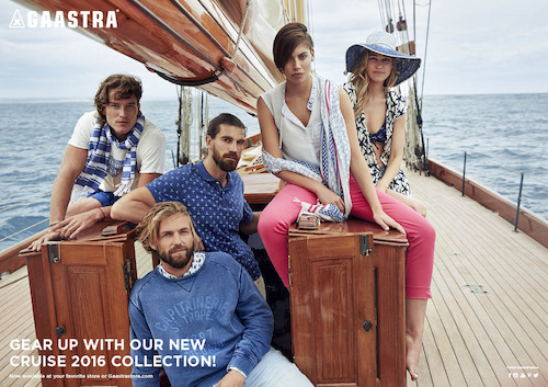 Preview: Gaastra Cruise collectie 2016 voor hem