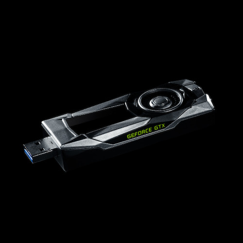 NVIDIA kündigt Limited Edition GeForce GTX USB-Sticks zur E3 an