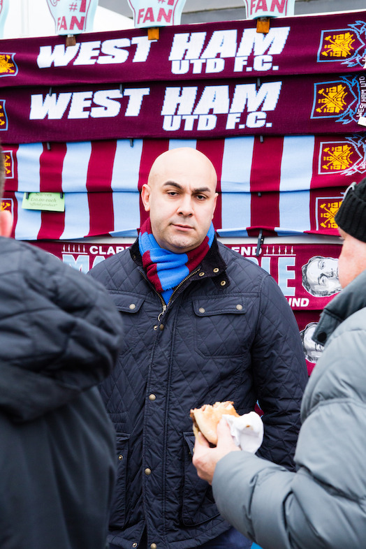 Tony, West Ham tragic