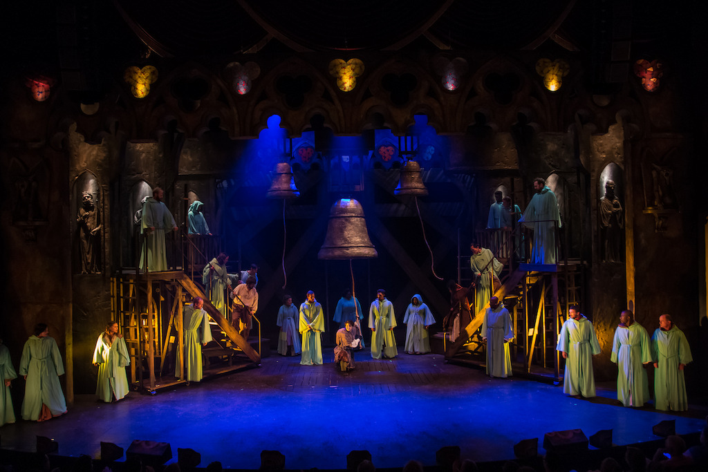 The Cast of HUNCHBACK. Photo by Daniel Parvis.