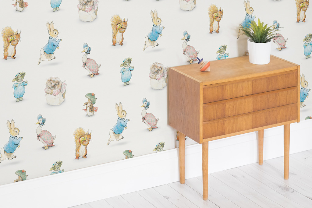 Beatrix Potter Wallpaper Mural