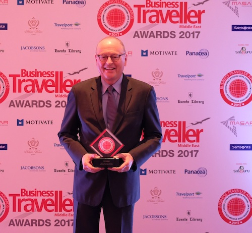 Photo Caption: flydubai wins at the 2017 Business Traveller Middle East Awards