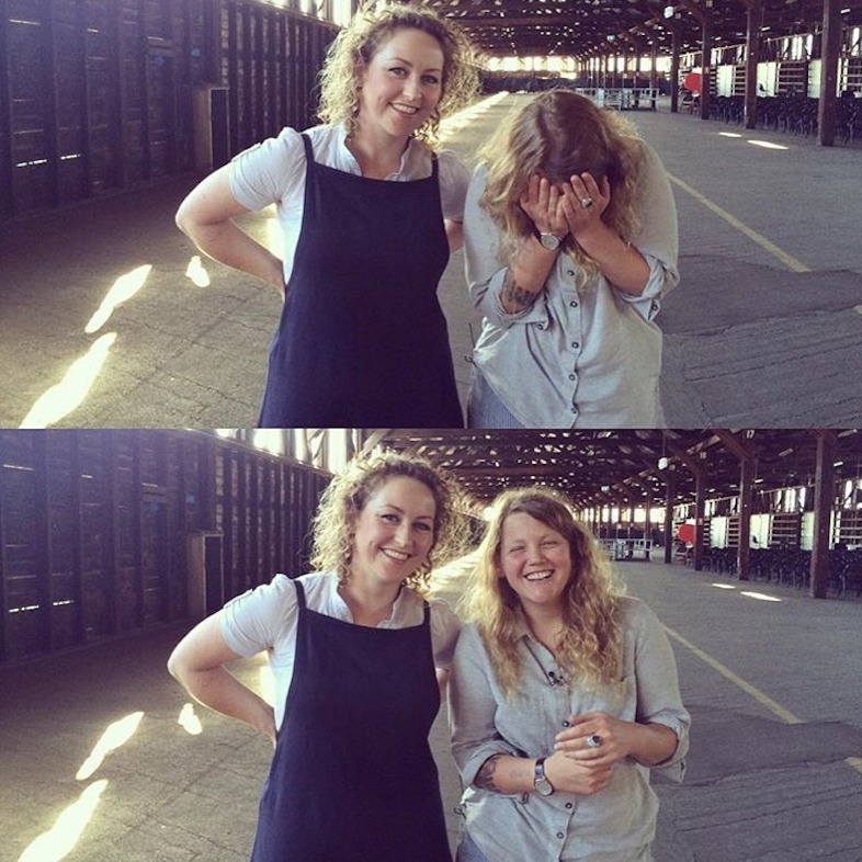 triple j's Zan Rowe with Kate Tempest