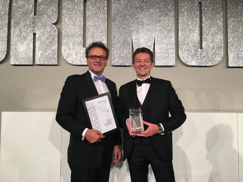 Euromoney Global Awards for Excellence - 6 juillet 2017 - Daniel Falque - Johan Thijs