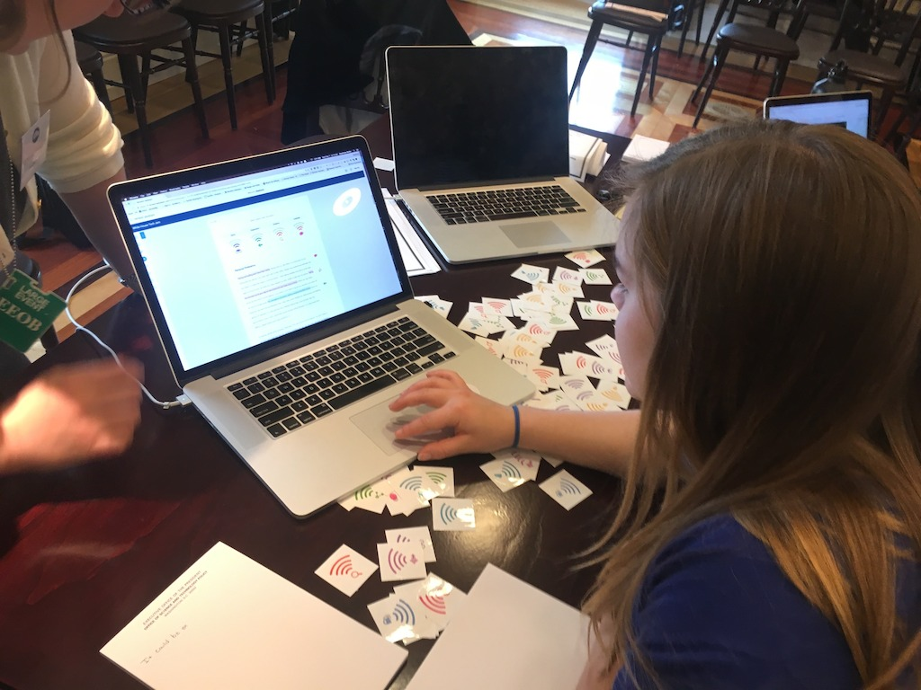 At the White House this week, education and legislative leaders met with students at the Innovative Assessment Tech Jam. Here a student uses Turnitin Revision Assistant, one of the featured products at the event. Revision Assistant evaluates students' writing and gives immediate, actionable feedback they can instantly put to use.