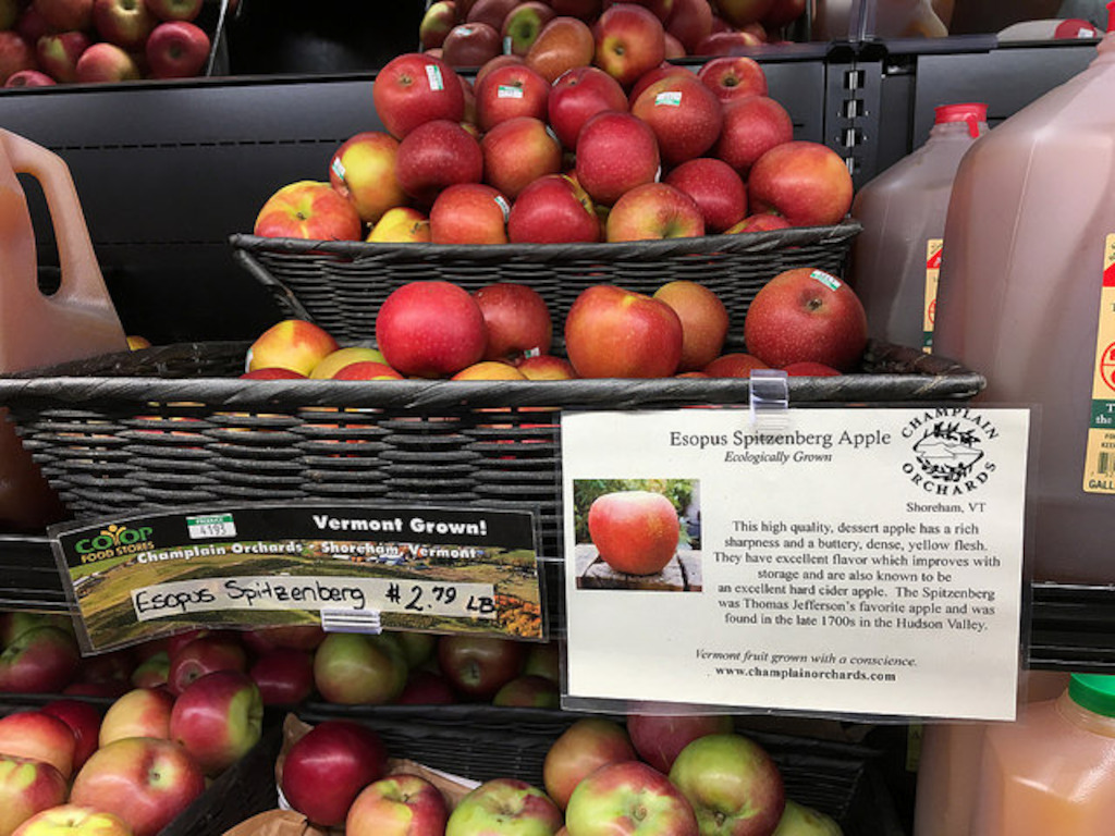 Heirloom apples varieties are found by the dozen