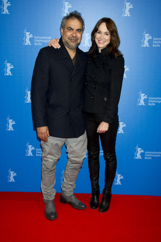 Wayne Blair & Frances O'Connor at the World Premiere of Cleverman, Berlinale