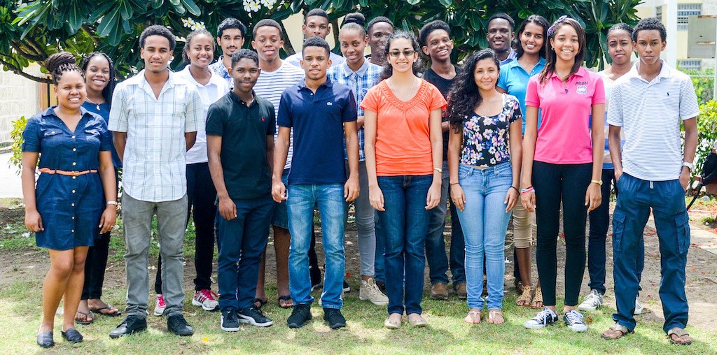 SPISE 2016 Class photo. © Caribbean Science Foundation