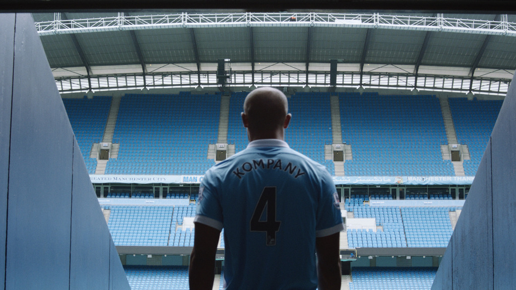 Spot TV 'Here's to you, Vincent Kompany'
