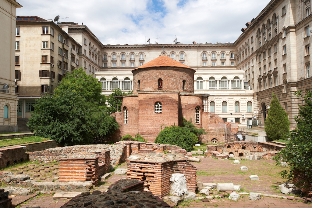 Oldest church in Sofia, Bulgaria