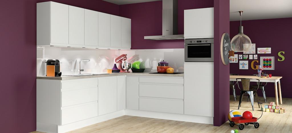 Galerie de m dias de eggo - Credence keuken wit ...