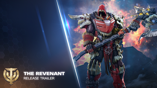 Preview: THE REVENANT WALK THE SOIL OF SKYFORGE ONCE MORE