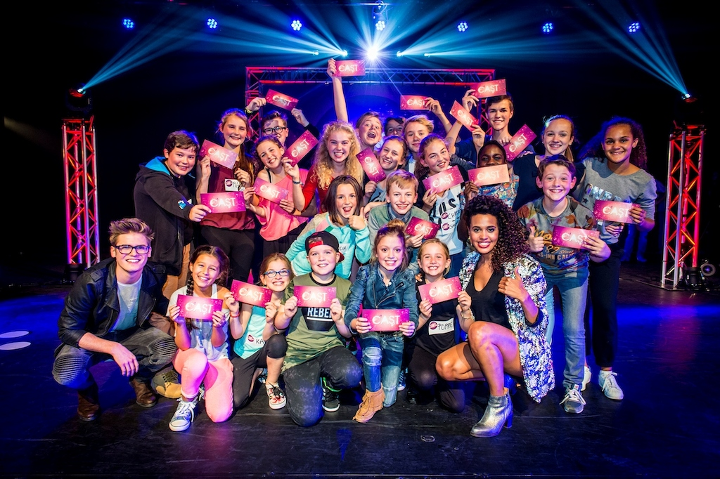De cast van Ketnet Musical - Kadanza Together (c) Frederik Beyens