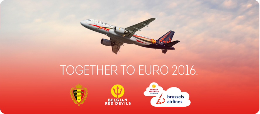 Brussels Airlines prepares for Euro 2016