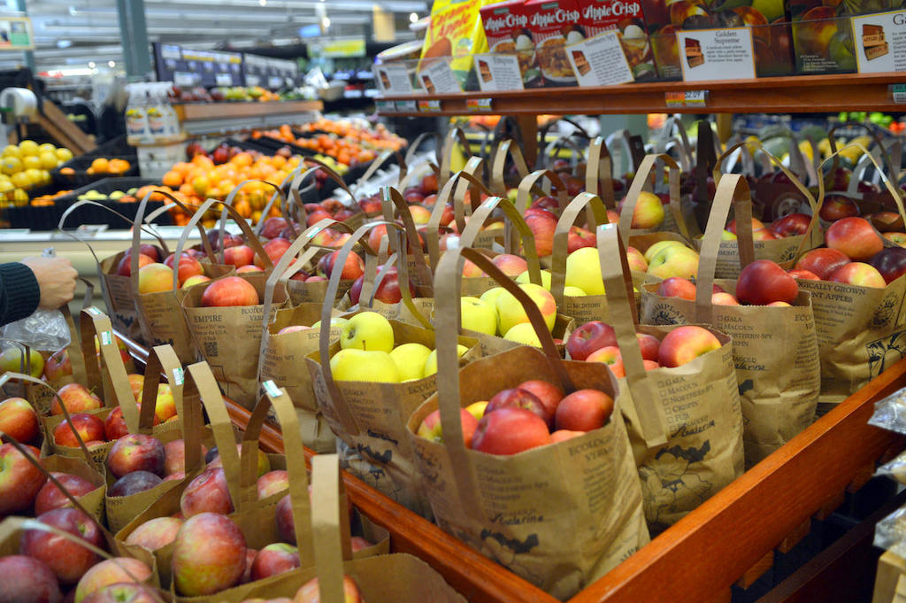 More than 50 varieties of apples will be found in the Co-op during the harvest season with many choices lasting into winter