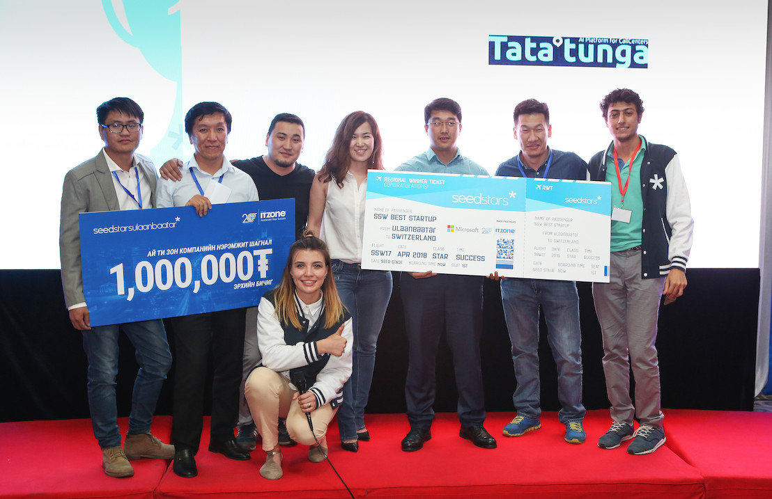 TataTunga named Mongolian most promising startup at Seedstars Ulaanbaatar