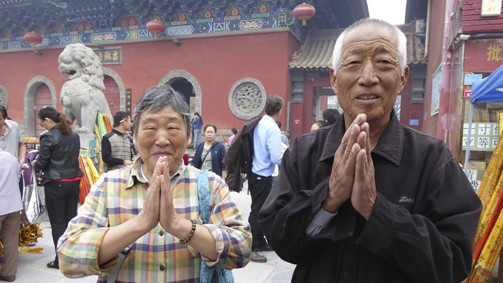 Tempel in Kaifeng - (c) BBC Worldwide