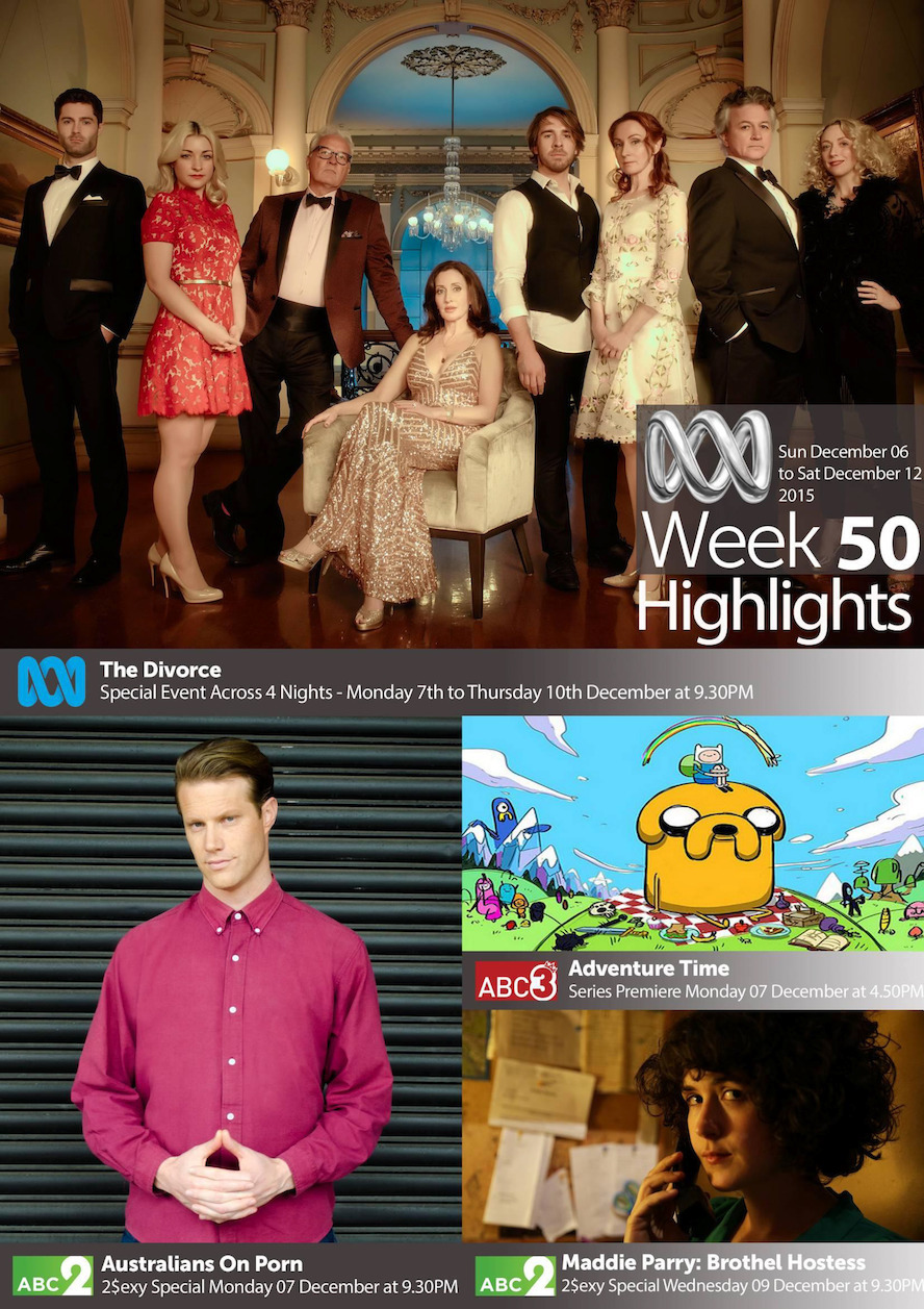 ABC TV Highlights - Week 50
