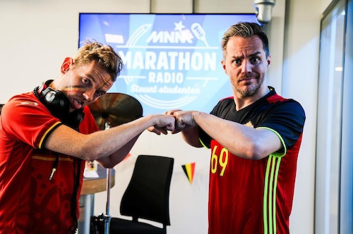 Marathonradio 2016 zet de eindsprint in