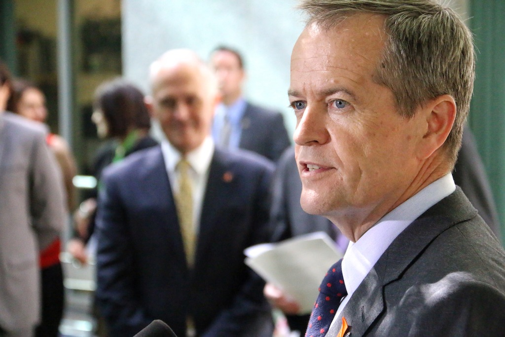 Bill Shorten (photo credit: Matt Roberts)