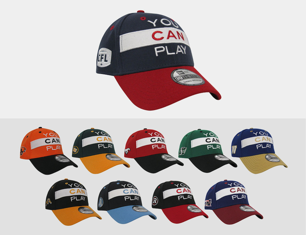 CFL/YCP New Era 3930 Limited Edition Flex Cap.