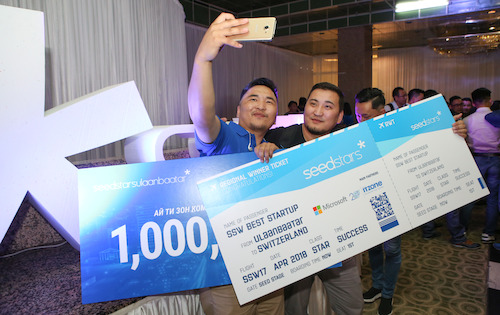 Preview: TataTunga named Mongolian most promising startup at Seedstars Ulaanbaatar