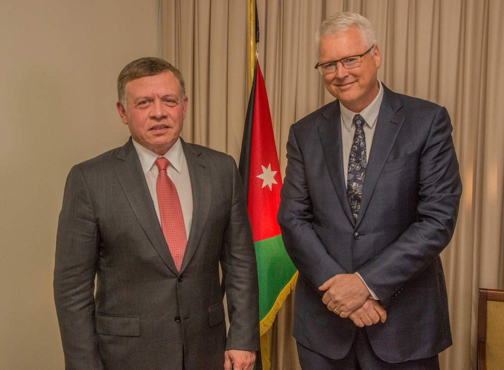 Jordan's King Abdullah II speaks with Tony Jones tonight on Lateline