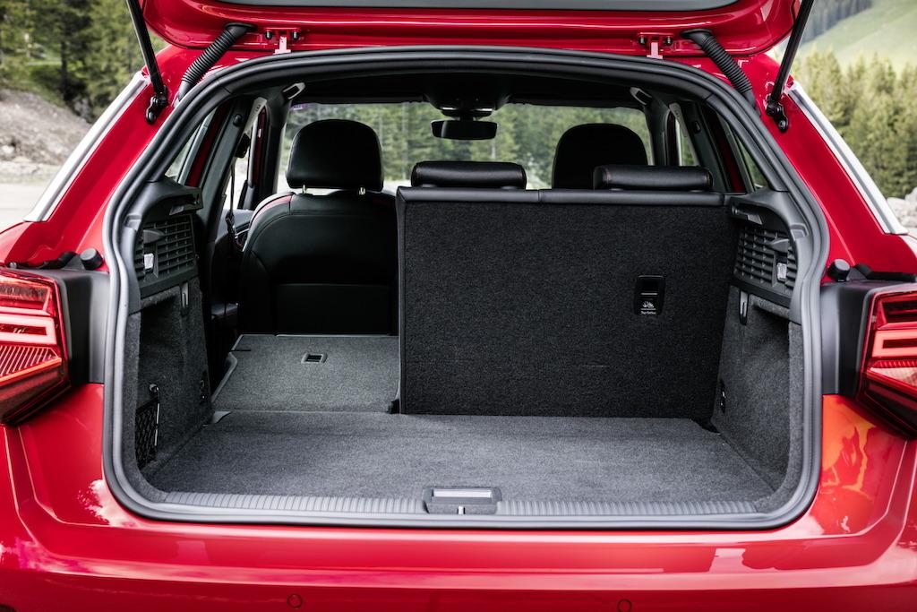 Audi Q2 coffre