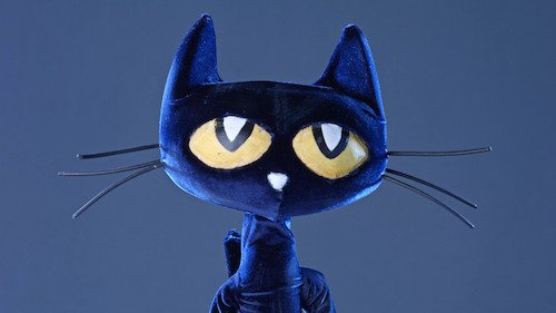Get hands-on with Pete the Cat at the Center for Puppetry Arts