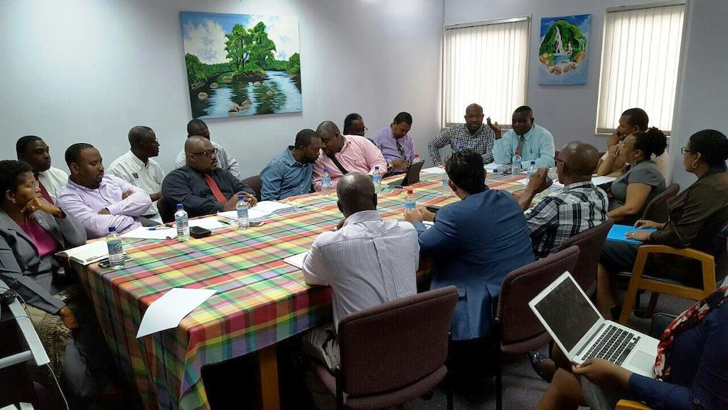 OECS Trade Mission meets with Agricultural Stakeholders in Dominica.
