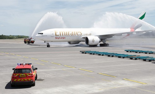Emirates SkyCargo commences freighter service to Luxembourg