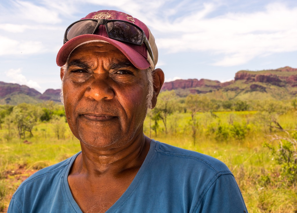 Local tour operator, Ted Hall, Mandangala - Foreign Correspondent, photo credit Greg Nelson