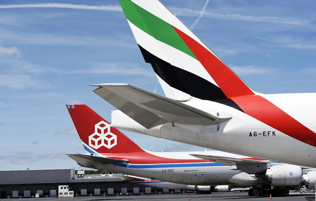 Emirates SkyCargo's freighter operation between Luxembourg and Dubai World Central is one of the first steps in the implementation of the strategic operational partnership between Emirates SkyCargo and Cargolux Airlines announced in May this year.